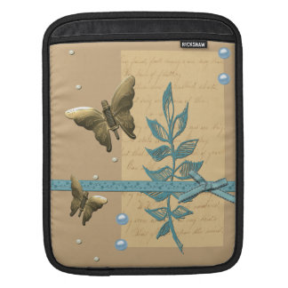 Steampunk Metal Butterfly Sleeve For iPads