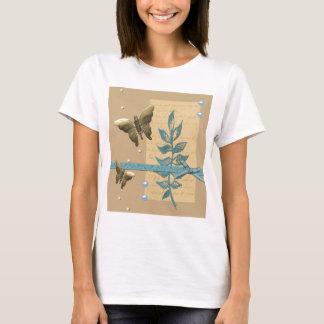 Steampunk Metal Butterfly T-Shirt