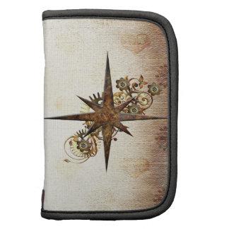 Steampunk Metal Compass Star Planner