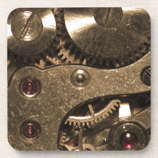 Steampunk Metal Gears Coaster