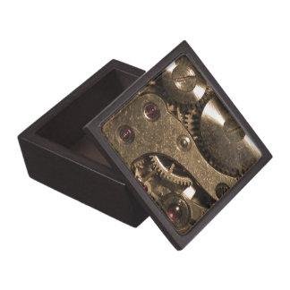Steampunk Metal Gears Keepsake Box