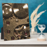 Steampunk Metal Gears Photo Plaques