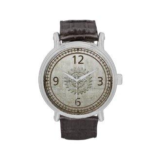Steampunk Metal Wristwatch