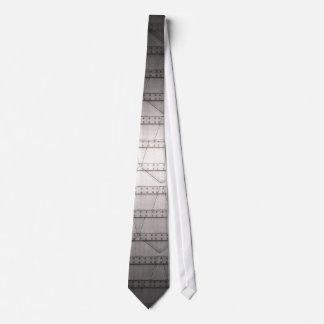 STEAMPUNK Metallic Iron Plating Stud Tie