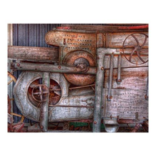 Steampunk - mi máquina nueva y mejorada tarjetón