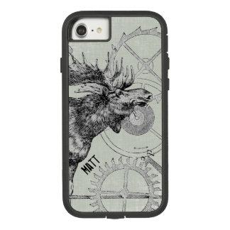 Steampunk Moose Wildlife Case-Mate Tough Extreme iPhone 8/7 Case