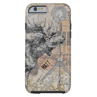 steampunk Moose Wildlife Tough iPhone 6 Case