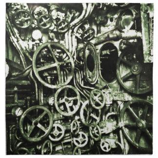 Steampunk: Motor de Timeship del Victorian Servilleta