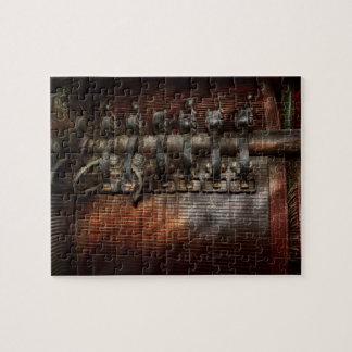 Steampunk - motorizado rompecabeza con fotos