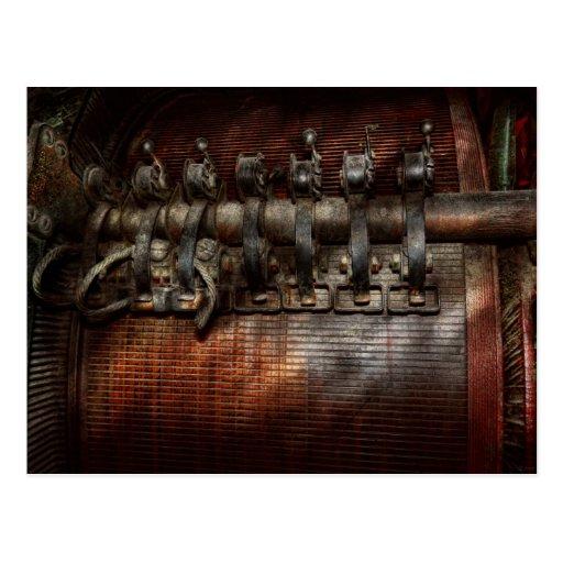 Steampunk - motorizado tarjetas postales