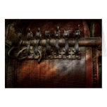 Steampunk - Motorized Card