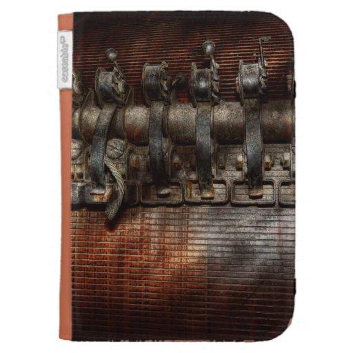 Steampunk - Motorized Kindle Keyboard Cases