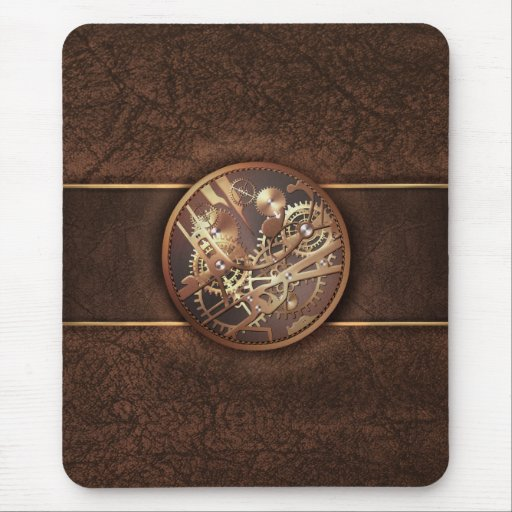 Steampunk Watch Mousepad