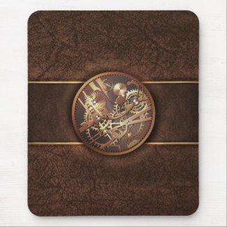 steampunk mouse pad mousepad
