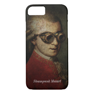 Steampunk Mozart iPhone 7 Case