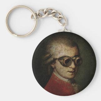 Steampunk Mozart Keychain