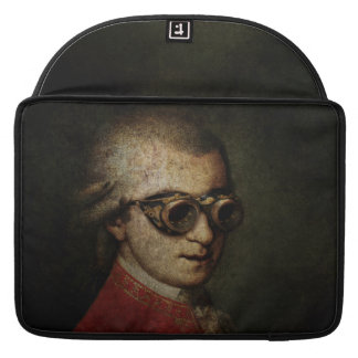Steampunk Mozart Sleeves For MacBooks