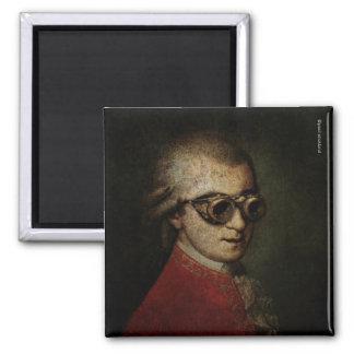 Steampunk Mozart Fridge Magnets