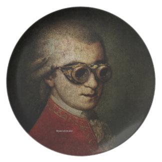 Steampunk Mozart Melamine Plate