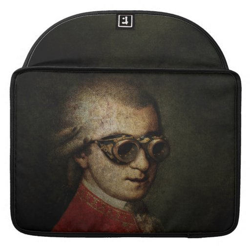 Steampunk Mozart Sleeves For MacBook Pro