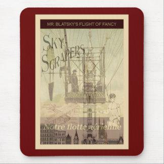 SteamPunk Mr Blatsky s Flight Of Fancy Mousepads