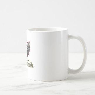 Steampunk Classic White Coffee Mug