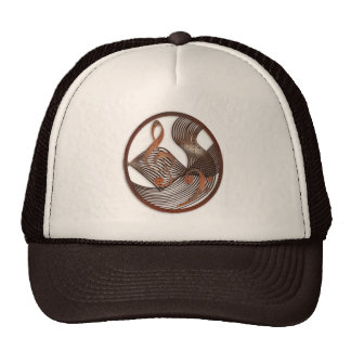 Steampunk Music Design hat