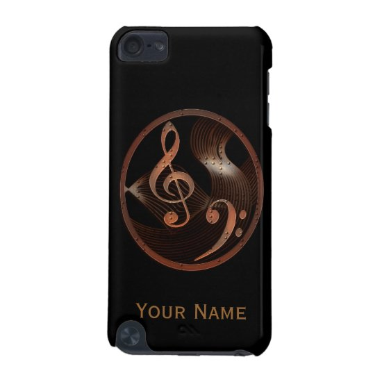 Steampunk Music Design iPod Touch case