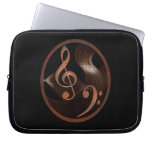 Steampunk Music design laptop sleeve