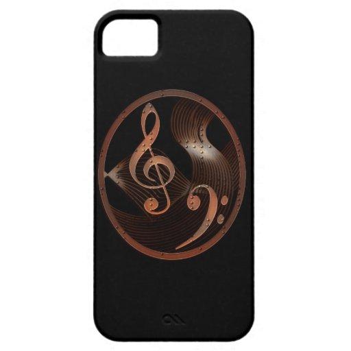 Steampunk Music Metal Design iPhone 5 Case