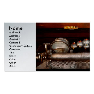 Steampunk - Music - Play me a tune Business Card Templates
