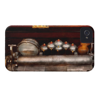 Steampunk - Music - Play me a tune iPhone 4 Case-Mate Cases
