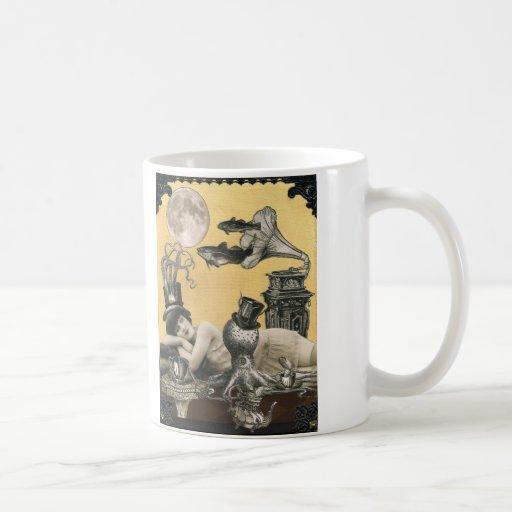 Steampunk Musical Octopus Mug