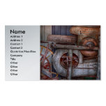 Steampunk - My new and improved machine Business Card Templates