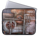 Steampunk - My new and improved machine Laptop Sleeve