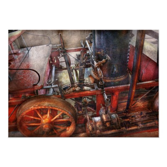 Steampunk - My transportation device Card