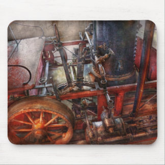 Steampunk - My transportation device Mouse Pad