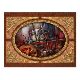 Steampunk - My transportation device Postcard