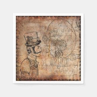 Steampunk Napkin designs