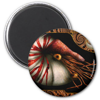 Steampunk - Nautilus - Coming out of your shell Magnet