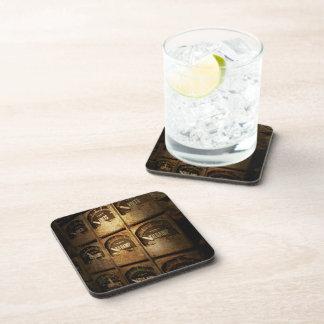 Steampunk - Naval - Electric - Power Grid Beverage Coaster