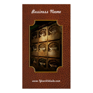 Steampunk - Naval - Electric - Power Grid Business Card