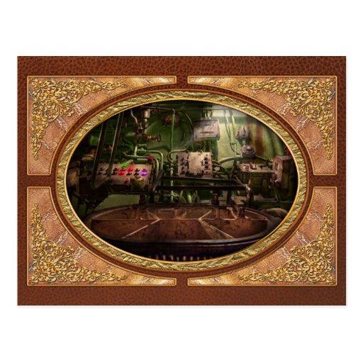Steampunk - naval - esto es donde hago mi trabajo postal
