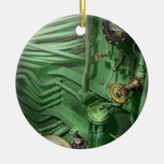 Steampunk - naval - fontanería - la cabeza ornamento para reyes magos