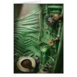 Steampunk - naval - fontanería - la cabeza tarjetón