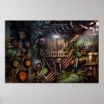 Steampunk - naval - la estación del comm impresiones