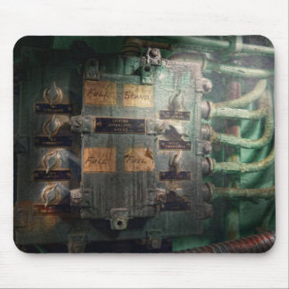Steampunk - Naval - Lighting control panel Mouse Pad