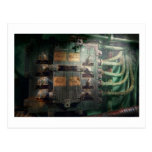 Steampunk - Naval - Lighting control panel Post Cards