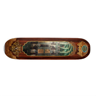 Steampunk - Naval - Lighting control panel Skateboard