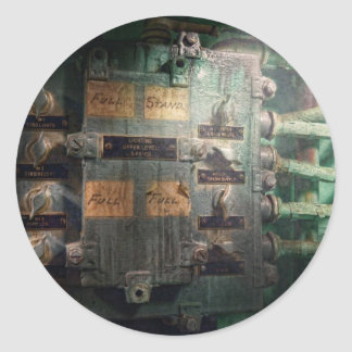 Steampunk - Naval - Lighting control panel Stickers